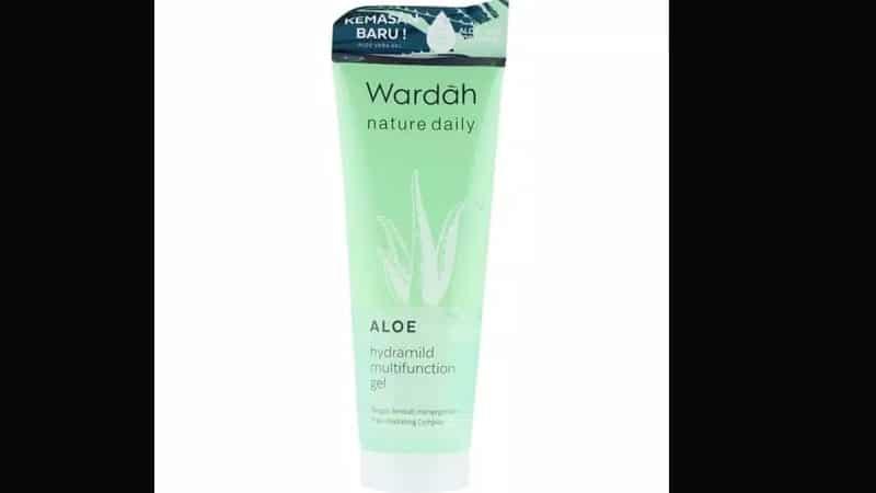 Manfaat Wardah Aloe Hydramild Gel