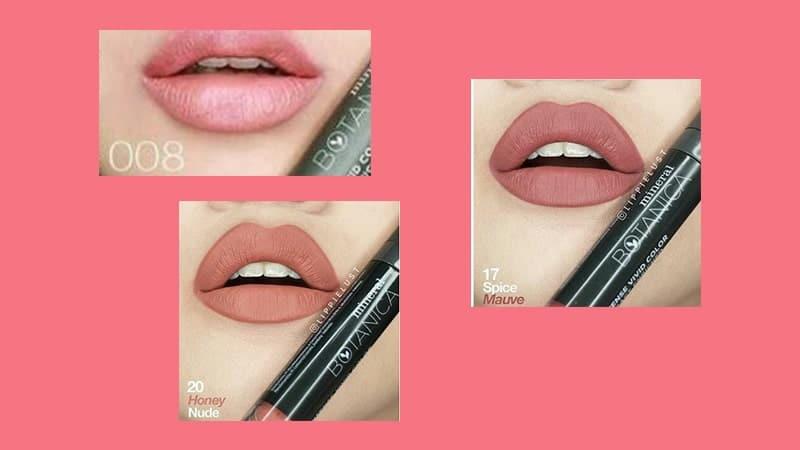 Warna Soft Matte Lip Cream Mineral Botanica - Nude