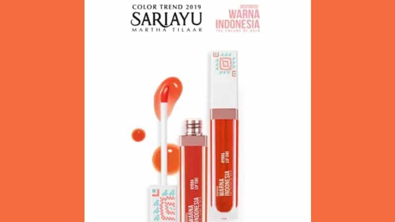 Warna Sariayu Hydra Lip Tint - Hydra Lip Tint WI 01
