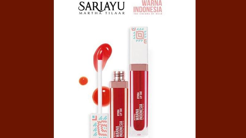 Warna Sariayu Hydra Lip Tint - Hydra Lip Tint WI 02