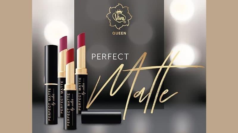 Warna Lipstik Viva Perfect Matte - Lipstik Matte Viva