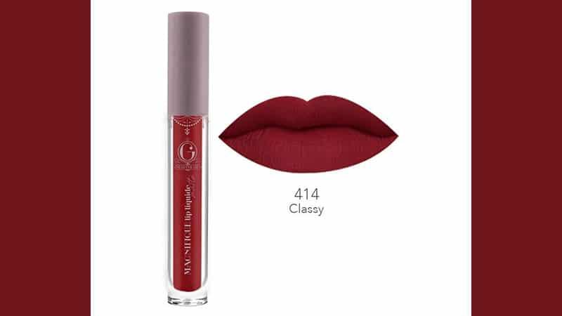 Warna Lip Cream Madame Gie untuk Kulit Sawo Matang - Magnifique Lip Liquide Matte 414 Classy