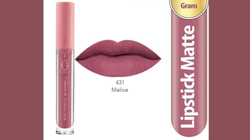 Warna Lip Cream Madame Gie untuk Kulit Sawo Matang - Magnifique Lip Liquide Nude 431 Malice