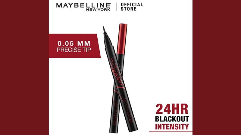 Macam Eyeliner Maybelline - Hypersharp Power Black