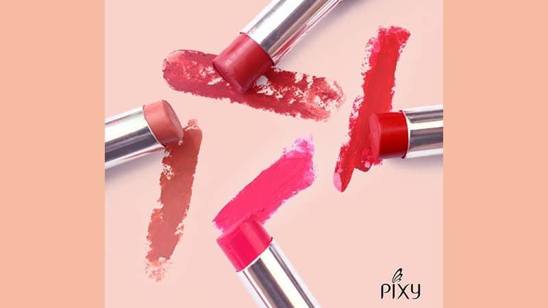 Warna-Warna Lipstik Pixy - Macam-Macam Lipstik Pixy