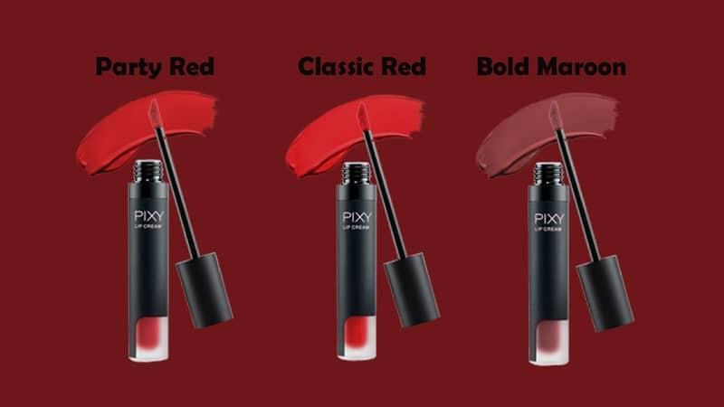 Warna Lip Cream Pixy - Merah