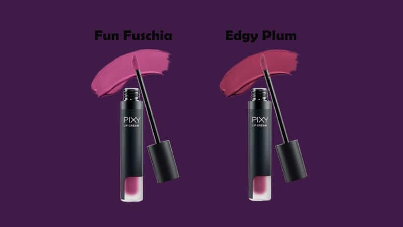 Warna Lip Cream Pixy - Ungu