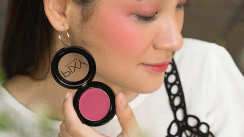 Pixy Twin Blush Shade - Pipi Pink Merona