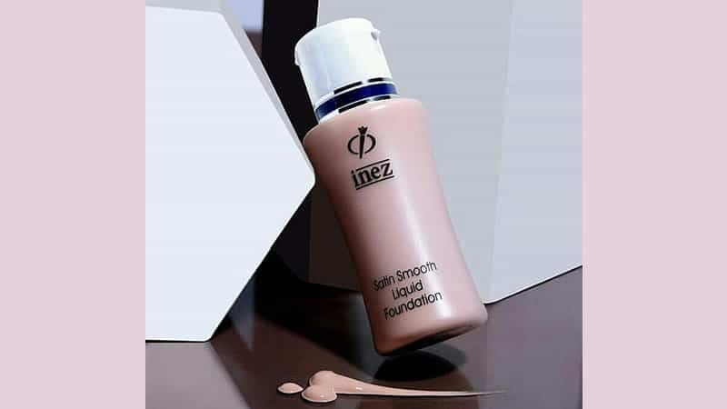 Produk Inez Foundation - Satin Smooth Liquid Foundation