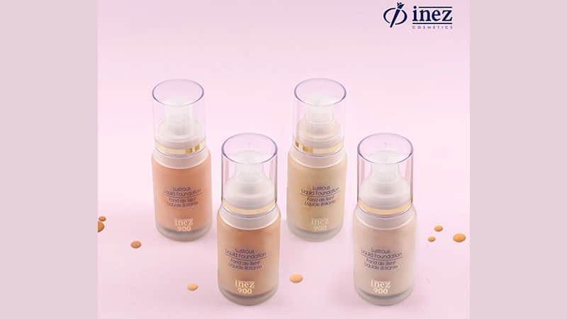 Produk Inez Foundation - Lustrous Liquid Foundation