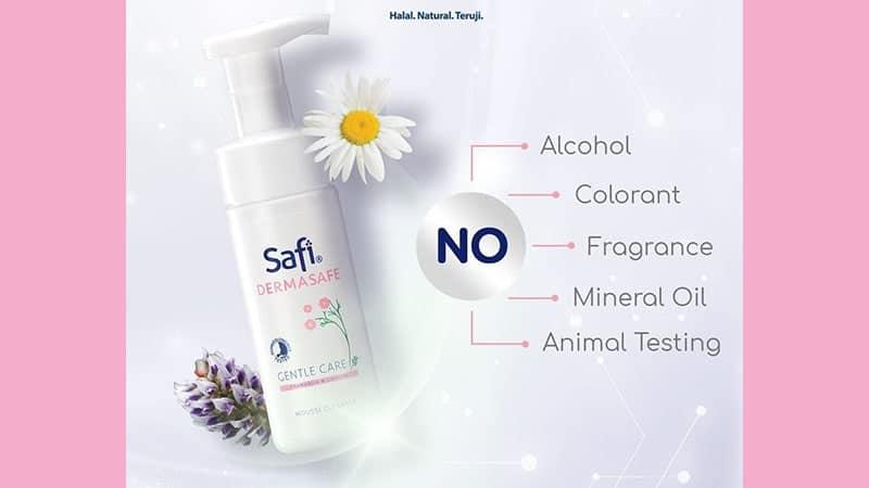 Manfaat Face Wash Safi - Dermasafe Gentle Care Mousse Cleanser