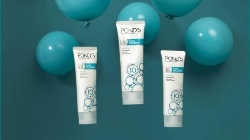 Ponds Cuci Muka - Acne Solution
