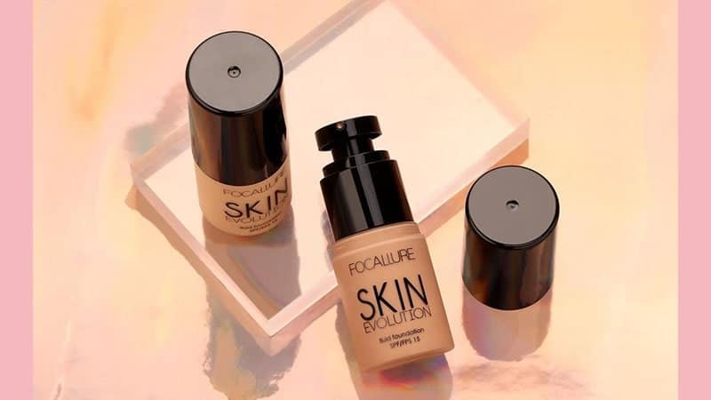 Shade Foundation Focallure - Skin Evolution Fluid Foundation