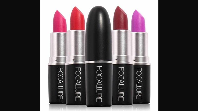 Pilihan Warna Lipstik Focallure - Lipstick Matte & Long Lasting