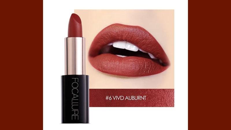 Lacquer Lipstick 06 Vivd Auburnt