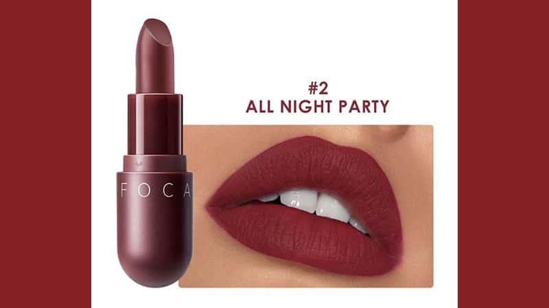 Capsule Velvet Matte Lipstick 02 All Night Party