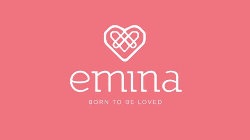 Emina - Logo & Slogan Born to be Loved