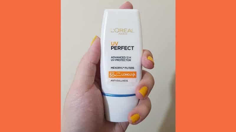 Macam Sunscreen Loreal UV Perfect - Anti Dullness