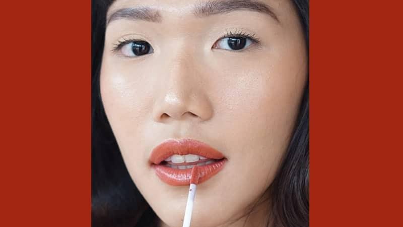 Swatch BLP Lip Glaze - Nectarine Tart