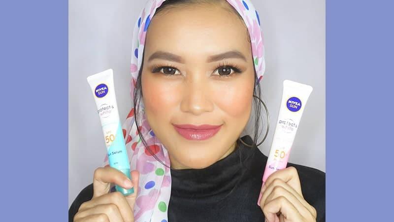 Suncreen Nivea untuk Wajah - Protect and White
