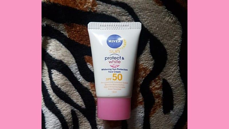 Sun Face Protect & White Cream