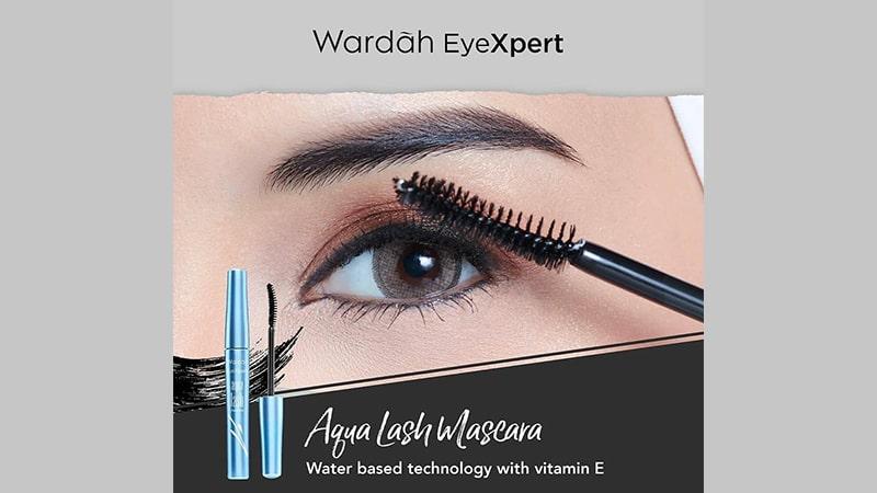 Mascara Wardah - EyeXpert Aqua Lash Mascara
