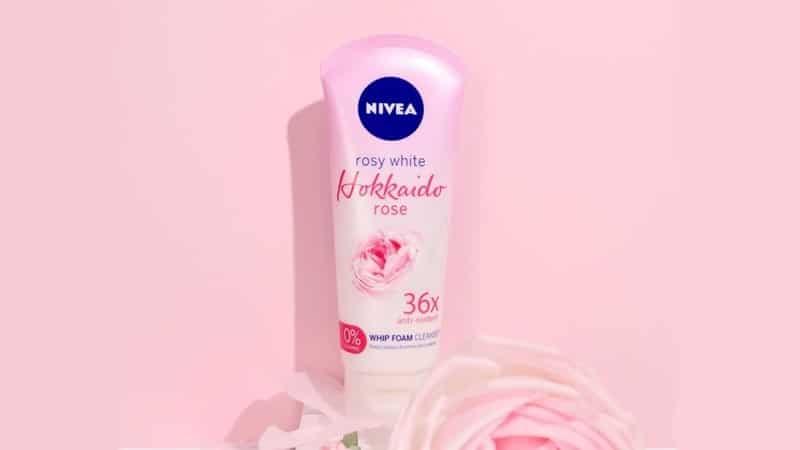 Nivea Face Wash - Hokkaido Rose Whip Foam