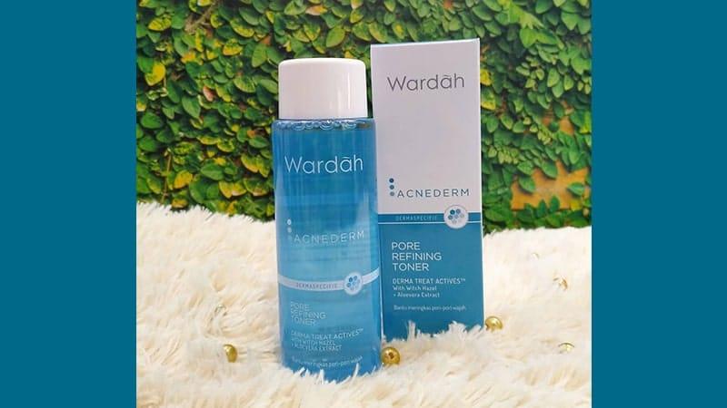 Rangkaian Wardah Acnederm Series - Pore Refining Toner