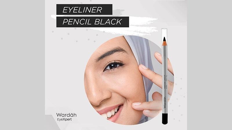 Jenis-Jenis Eyeliner Wardah - Eyeliner Pencil