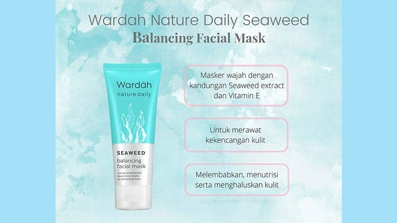 Nature Daily Seaweed Balancing Facial Mask
