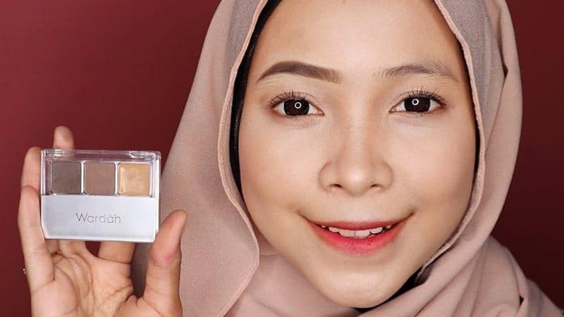 Macam-Macam Eyebrow Wardah - Palette