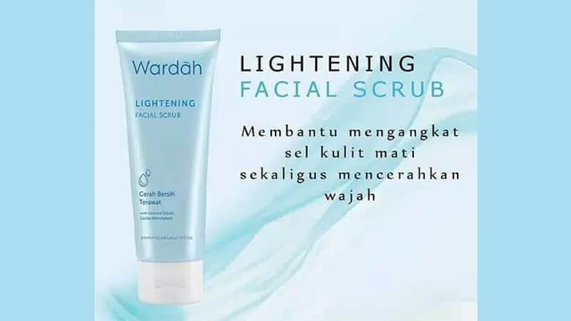 Produk Scrub Wajah Wardah - Lightening Facial Scrub