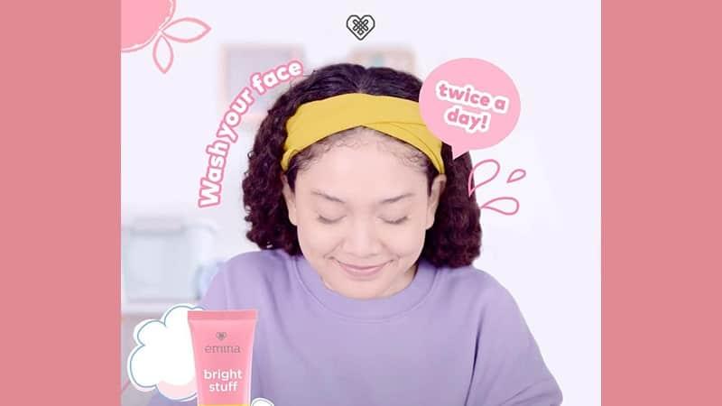Macam-Macam Face Wash Emina - Bright Stuff Series Face Wash
