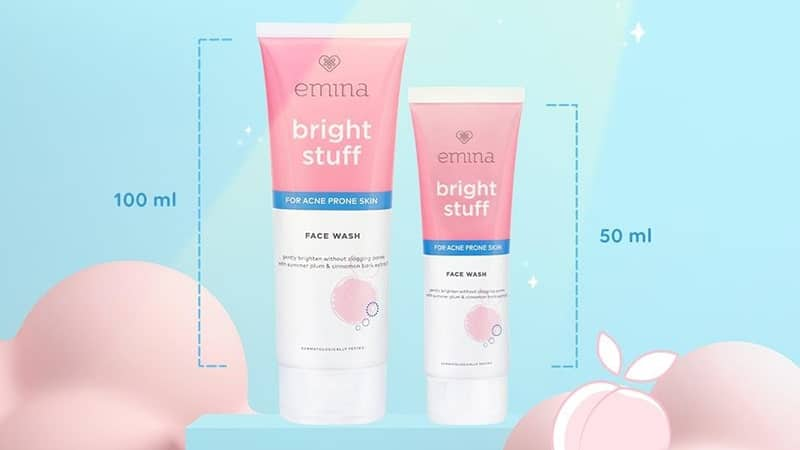 Manfaat dan Harga Face Wash Emina - Bright Stuff for Acne Prone Skin