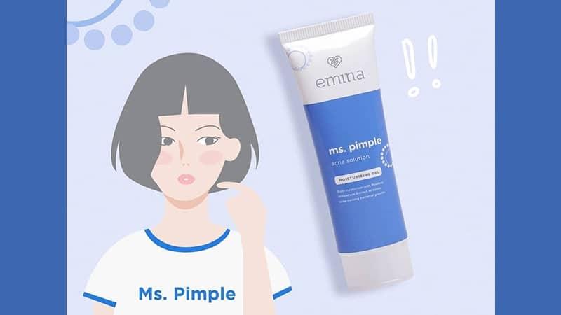 Manfaat Krim Pelembab Emina - Ms. Pimple Acne Solution Moisturizing Gel