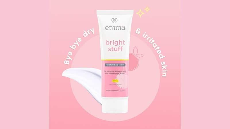 Manfaat Krim Pelembab Emina - Bright Stuff Moisturizing Cream