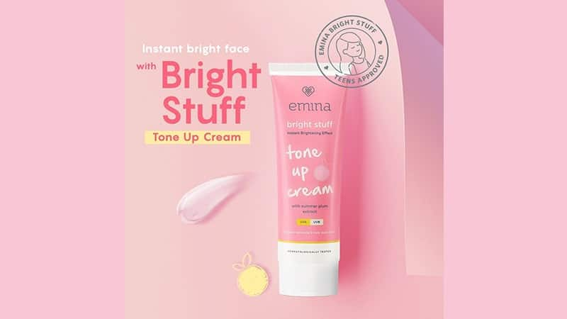 Harga Macam-Macam Moisturizer Emina - Bright Stuff Tone Up Cream