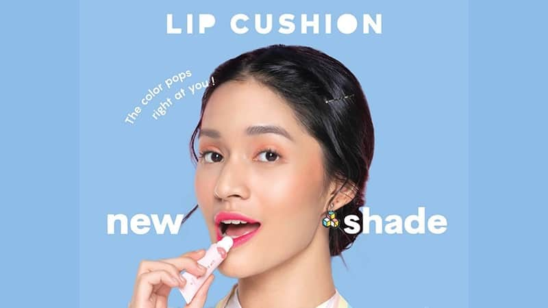 Emina Lip Cushion Swatches - Warna Baru