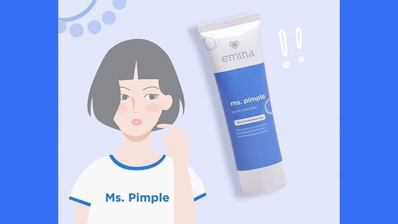 Kegunaan dan Harga Emina Ms Pimple - Acne Solution Moisturizing Gel