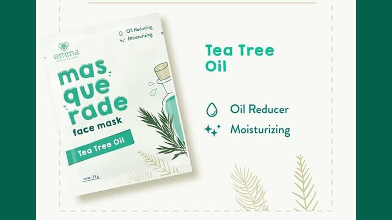 Masquarade Face Mask Tea Tree Oil