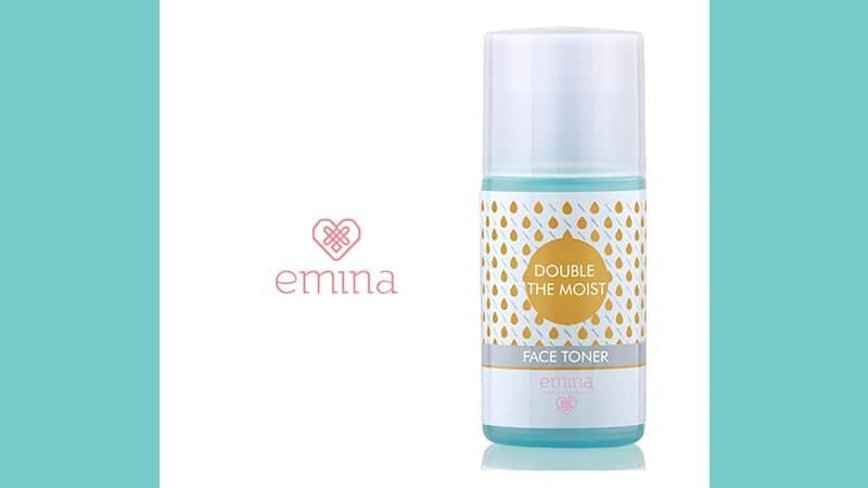 Produk Skincare Emina untuk Kulit Kering - Double The Moist Face Toner