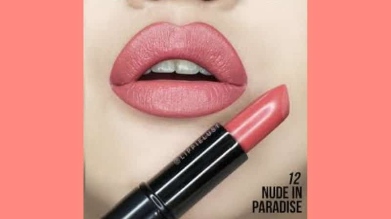 Lipstik Make Over Warna Natural - Creamy Lust Lipstick 12 Nude in Paradise