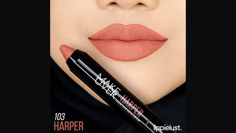 Harga Make Over Color Stick Matte Crayon - 103 Harper