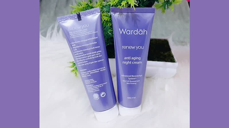 Macam-Macam Cream Malam Wardah - Renew You Anti Aging Night Cream