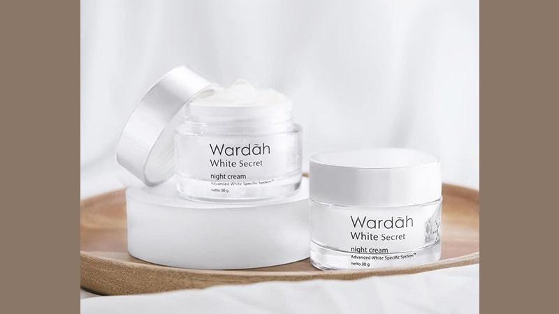 Manfaat dan Harga Cream Malam Wardah - White Secret Night Cream