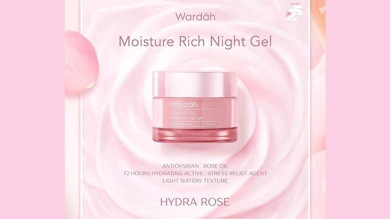 Hydra Rose Moisture Rich Night Gel