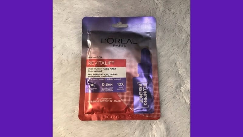 Loreal Revitalift Pro Youth Face Mask Plumping