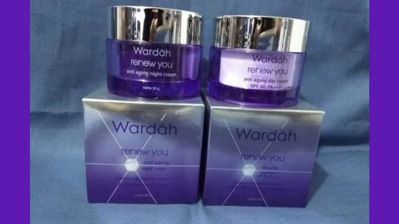 Cream Anti Aging yang Bagus dan Murah - Wardah Renew You Anti Aging Day Cream & Night Cream
