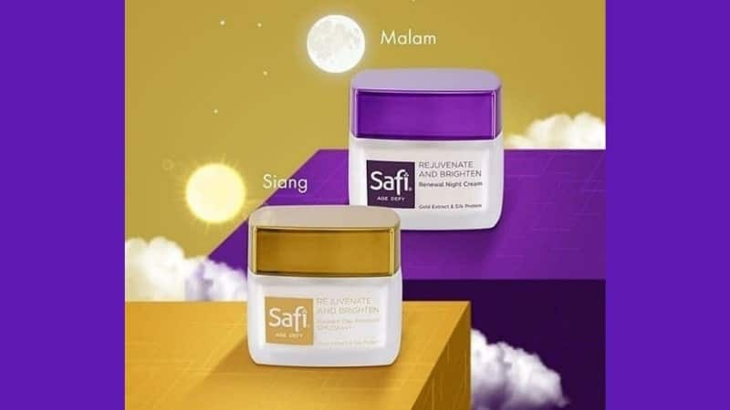 Cream Anti Aging yang Bagus dan Murah - Safi Age Defy Radiant Day Emulsion & Renewal Night Cream