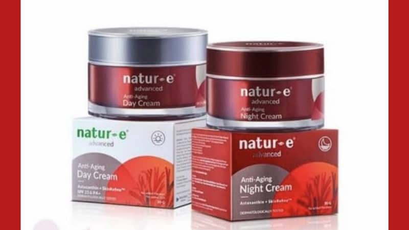 Cream Anti Aging yang Bagus dan Murah - Natur-E Advanced Anti Aging Day Cream & Night Cream